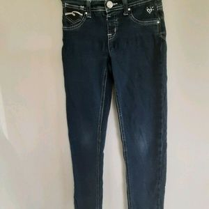 Justice Girls Jeans Sequins Pockets Super Skinny